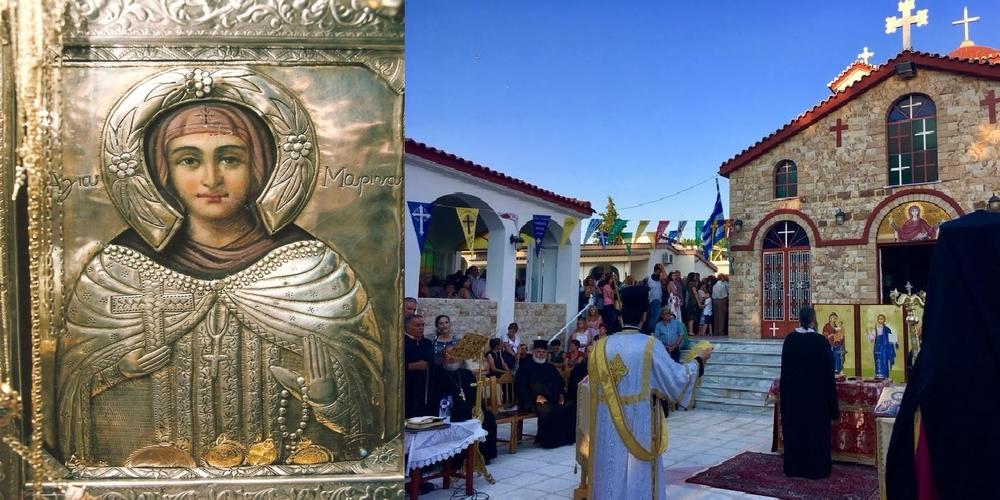 Αλεξανδρούπολη: Έρχεται η Πανήγυρις του Ιερού Ναού Αγίας Μαρίνης Μαΐστρου