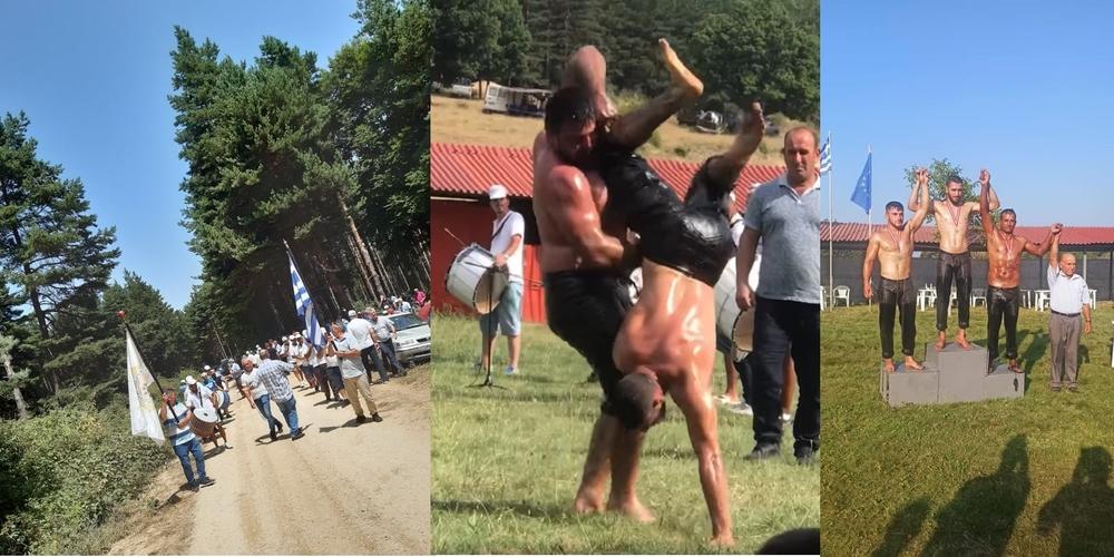 """Σουφλί: Απόλυτη επιτυχία και οι φετινές παραδοσιακές εκδηλώσεις πάλης στο """"Χίλγια"""" (πολλά ΒΙΝΤΕΟ)"""