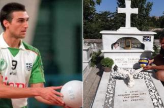 Λήμνος: Η συγκινητική ανάρτηση του Κώστα Μπαρμπούδη, για την επίσκεψη στον τάφο του Νίκου Σαμαρά