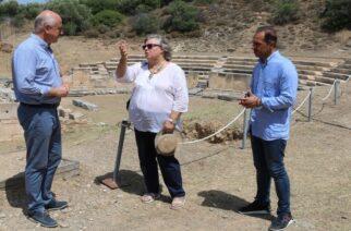 Προστασία και αναβάθμιση του αρχαίου θεάτρου Μαρώνειας απ' την Περιφέρεια ΑΜΘ, με πόρους του ΕΣΠΑ