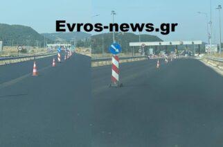 Η Εγνατία Οδός επιτέλους… μαύρισε από Αρδάνιο προς Αλεξανδρούπολη, με την αποκατάσταση του οδοστρώματος