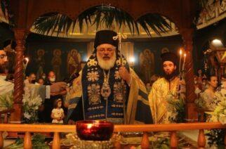 Ορεστιάδα: Στην εκκλησία Κοιμήσεως Θεοτόκου Κλεισσούς ιερούργησε ο Μητροπολίτης κ.Δαμασκηνός