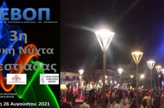 """Ορεστιάδα: Έρχεται η """"3η Λευκή Νύχτα"""", με 9 live προγράμματα και ορχήστρες – Όλο το πρόγραμμα"""