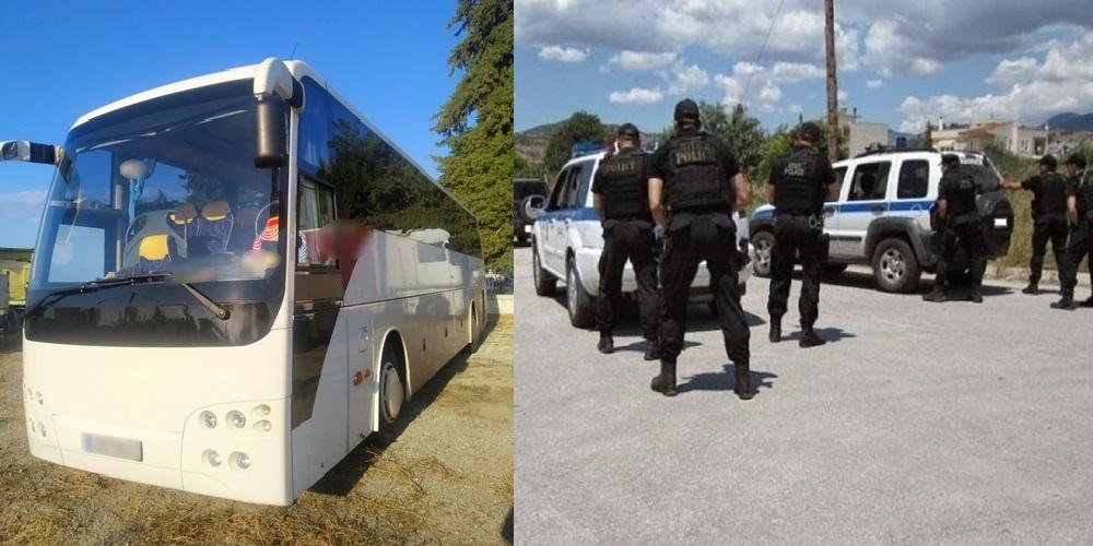 Έβρος: Με λεωφορείο και αυτοκίνητο, Έλληνας και 3 αλλοδαποί διακινούσαν 35 λαθρομετανάστες