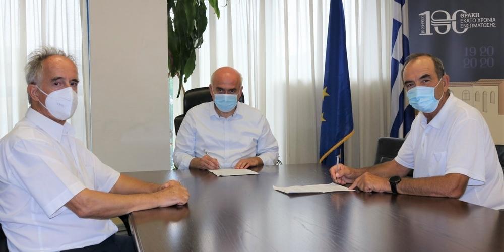 Η Περιφέρεια ΑΜΘ χρηματοδοτεί την κατασκευή του δρόμου προς τη Μονή Μάξιμου Καυσοκαλυβίτη του Παπίκιου Όρους