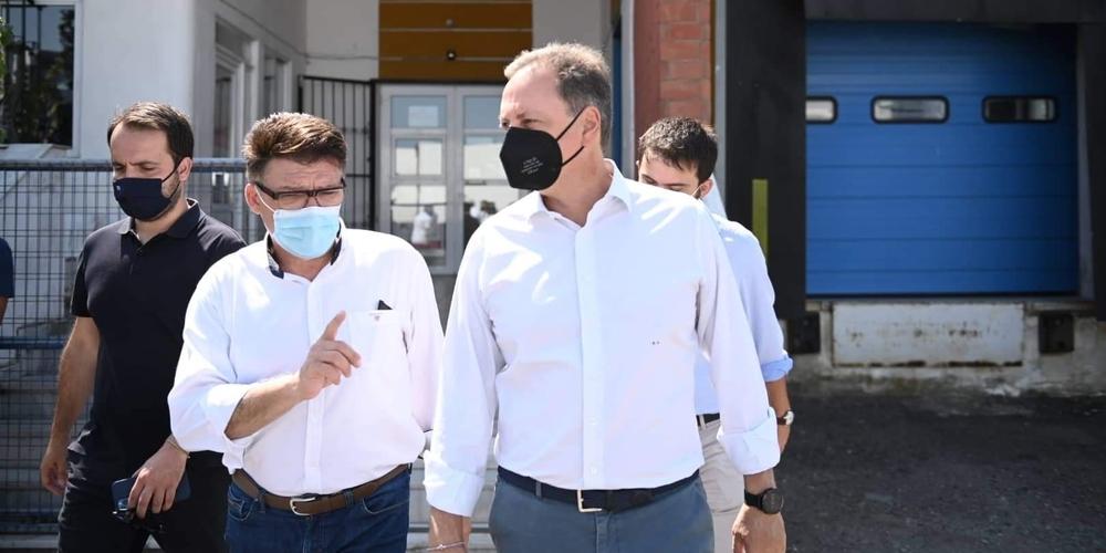 Πέτροβιτς: Σημαντική εξέλιξη η μετεγκατάσταση και αναβάθμιση του Γραφείου Φυτοϋγειονομικού Ελέγχου Κήπων