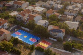 Τρία νέα γήπεδα για τα παιδιά στη Σαμοθράκη (ΒΙΝΤΕΟ)
