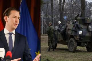 Συγχαρητήρια Κουρτς: Η Ελλάδα φυλάει πλέον τα εξωτερικά σύνορα μας – Όχι όπως το 2015