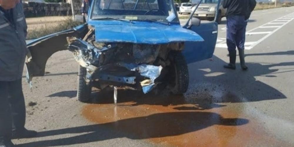 Αλεξανδρούπολη: Τροχαίο με τραυματισμό κοπέλας στο Μοναστηράκι πριν λίγο