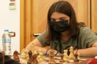 Ασημένια Πανελληνιονίκης στο Σκάκι στέφθηκε η Άρτεμις Μπλίστα του ΕΘΝΙΚΟΥ Αλεξανδρούπολης
