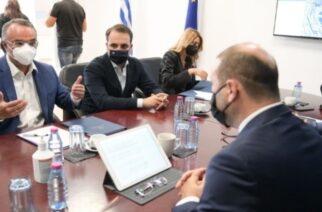 """Σταϊκούρας από Αλεξανδρούπολη: """"Η Πολιτεία έδωσε αποζημιώσεις 139 εκατ. ευρώ στον Έβρο για την πανδημία"""""""