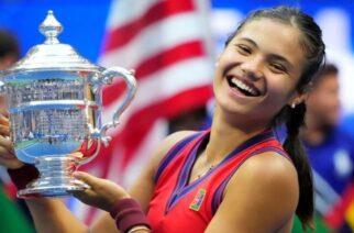 Η 18χρονη Έμα Ραντουκάνου Κατέκτησε το US Open Αήττητη