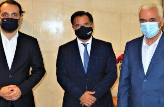 Επίσκεψη στο υπουργείο Ανάπτυξης από Δερμεντζόπουλο, Καλακίκο, για θέματα του Σουφλίου και όχι μόνο