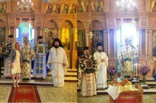 Διδυμότειχο-Παλιούρι: Τιμήθηκε η εφέστιος εικόνα της Παναγίας της Παλιουριώτισσας, παρουσία του Μητροπολίτη κ.Δαμασκηνού