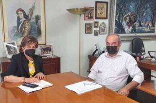 Κολγιώνης: Συζήτησε τα προβλήματα των αγροτών και τη διαχείριση συσκευασιών φυτοφαρμάκων, στο υπουργείο Αγροτικής Ανάπτυξης