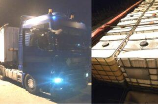 """Έφεραν 30 τόνους λαθραία βενζίνη από την Βουλγαρία, αλλά τους """"τσίμπησε"""" η αστυνομία"""