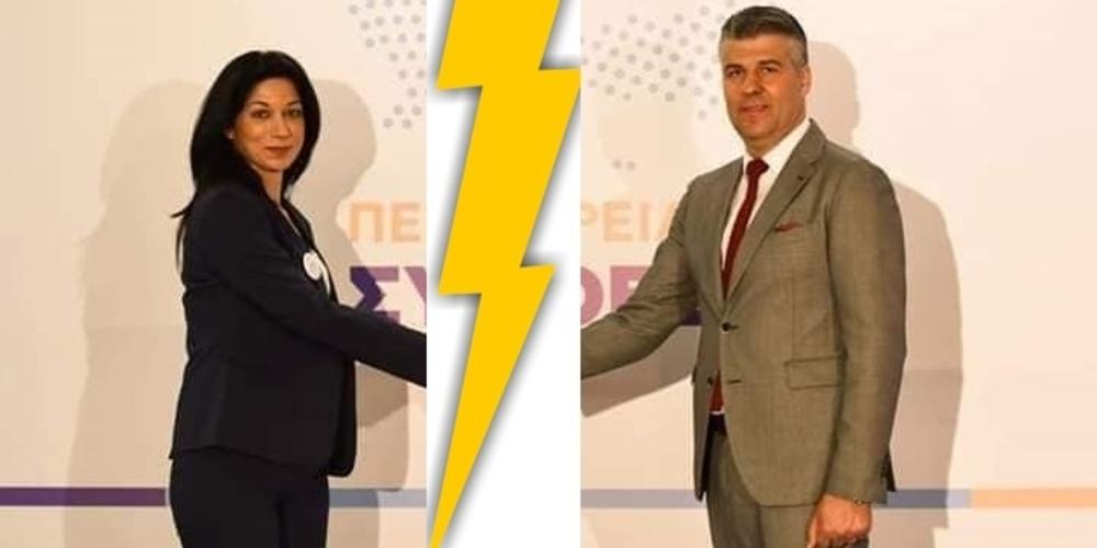 Τοψίδης: Τον παράτησε και η περιφερειακή σύμβουλος Μαρία Πολυμέρου, που ανεξαρτητοποιήθηκε – Φτάνει, μην τον ξεφτιλίζετε άλλο!!!