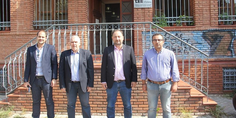 Συνάντηση με το ΤΕΕ Θράκης του Προέδρου της ΔΕΔΑ για τα έργα φυσικού αερίου