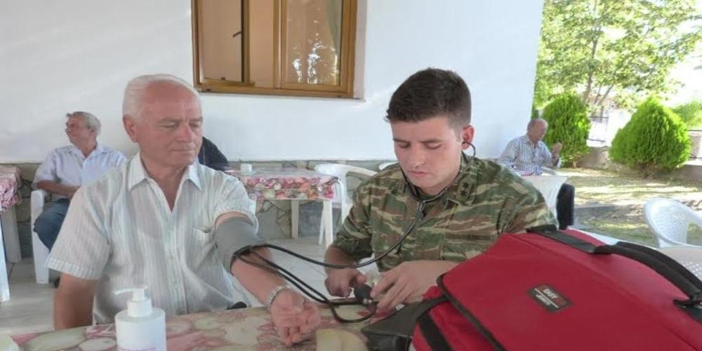 Σουφλί: Δωρεάν ιατρικές εξετάσεις από Στρατιωτικό Ιατρικό Κλιμάκιο στους κατοίκους Ρούσσας, Γονικού