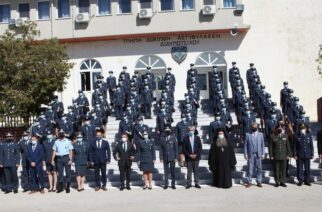 Τελετή ονομασίας και απονομής πτυχίων στους νέους Αστυφύλακες στην Σχολή Διδυμοτείχου