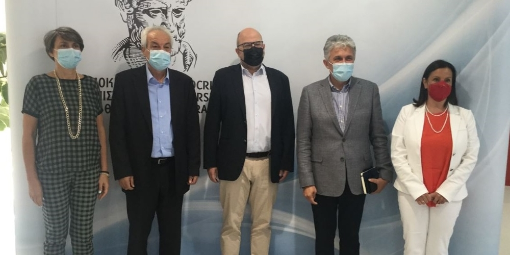 """Συνάντηση για να """"καλυφθεί"""" με φυσικό αέριο το Δημοκρίτειο Πανεπιστήμιο Θράκης"""