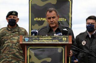 Παναγιωτόπουλος: Μοιράζονται 3,4 εκατ. ευρώ στα στελέχη των ενόπλων δυνάμεων στον Έβρο