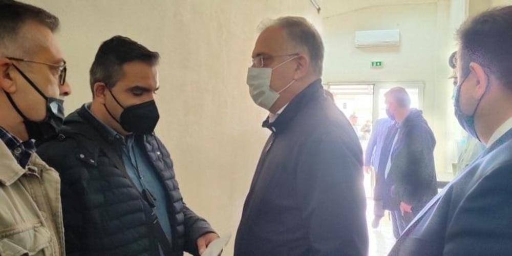 Συνάντηση της Ένωσης Συνοριοφυλάκων Έβρου με τον υπουργό Προστασίας του Πολίτη  Τάκη Θεοδωρικάκο