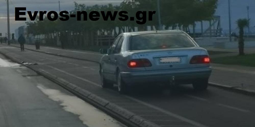 Αλεξανδρούπολη: Τα νέα ποδήλατα στους ποδηλατόδρομους της πόλης είναι… αυτοκίνητα Mercedes