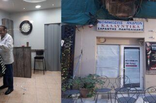 Διδυμότειχο: Μετά από 51 χρόνια, άλλαξε… στέκι ο κουρέας-σήμα κατατεθέν της οδού Βενιζέλου