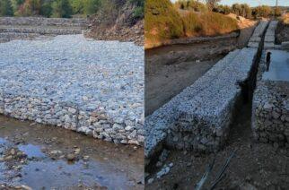 Αλεξανδρούπολη: Συνεχίζεται η ισχυρή θωράκιση των αγωγών μεταφοράς νερού