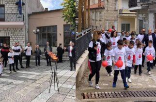 Διδυμότειχο: Η 19η Πανελλήνια Λαμπαδηδρομία των εθελοντών Αιμοδοτών, στους Μεταξάδες
