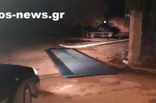 Ορεστιάδα: Άγνωστοι γκρέμισαν χθες βράδυ με αυτοκίνητο την πόρτα εισόδου του ΚΕΦΙΑΠ