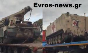 Γέμισε αμερικανικά στρατιωτικά οχήματα η εθνική οδός Ορμενίου-Αρδανίου – Που μεταφέρονται και γιατί(ΒΙΝΤΕΟ)