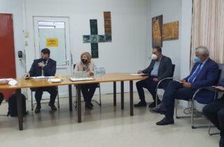 Επίσκεψη και σύσκεψη στο Νοσοκομείο Διδυμοτείχου η Εβρίτισσα Αναπληρωτής υπουργός Υγείας Μίνα Γκάγκα